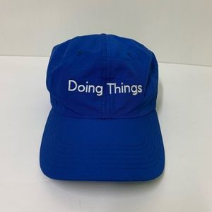 Outdoor Voices Blue Doing Things Adjustable Hat